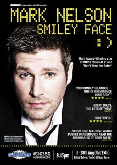 Mark Nelson Edinburgh Fringe 2016 flyer