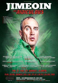 Jimeoin Edinburgh Fringe 2017 poster