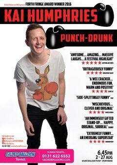 Kai Humphries 2017 Edinburgh Fringe poster