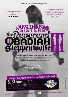 The Reverend Edinburgh 2013 poster