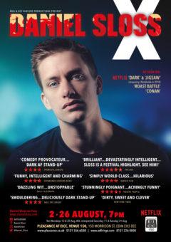 Daniel Sloss Edinburgh 2018 poster